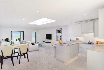 UNDER DEVELOPMENT: Crown Hill, Croydon CR0 - 7 Flats From